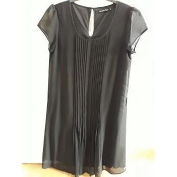 Vêtements Femme Robes courtes Teddy Smith ROBE NOIRE TEDDY SMITH Noir