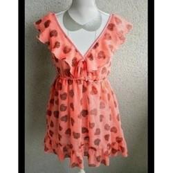 Vêtements Femme Tops / Blouses Molly Bracken BLOUSE MOLLY BRACKEN Orange