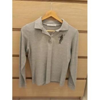 Vêtements Femme Polos manches longues Polo Club POLO GRIS Gris
