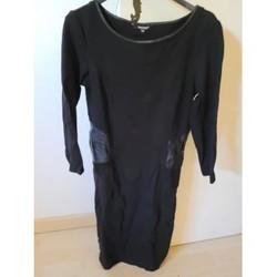Vêtements Femme Robes courtes Tom Tailor Robe noire Noir