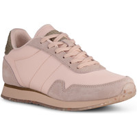 Chaussures Femme Baskets basses Woden Baskets Nora III Leather Rose