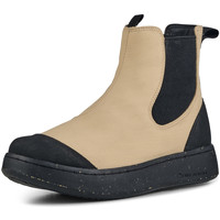 Chaussures Femme Boots Woden Bottes Magda Rubber Boot Beige