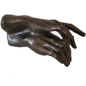 Maison & Déco Statuettes et figurines Muzeum Figurine DEUX MAINS de Rodin Marron