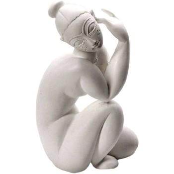 Maison & Déco Statuettes et figurines Muzeum Figurine Modigliani Nu féminin assis - 9.5 cm Blanc