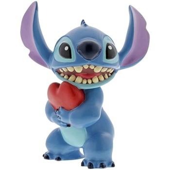 Maison & Déco Statuettes et figurines Disney Statuette de collection Stitch cœur Bleu