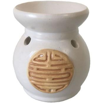 Maison & Déco Bougies, diffuseurs Zen Et Ethnique Diffuseur de Parfum Beige en céramique Chinois Beige