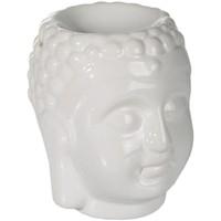 Maison & Déco Bougies, diffuseurs Zen Et Ethnique Diffuseur de Parfum tête de Bouddha Blanc