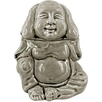 Maison & Déco Bougies, diffuseurs Zen Et Ethnique Diffuseur de Parfum tête de Bouddha modèle gris Gris