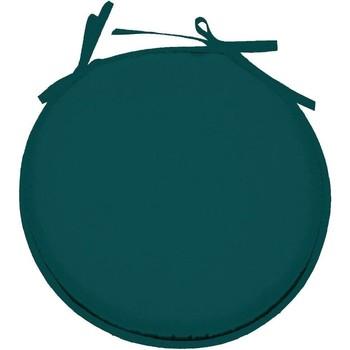 Maison & Déco Coussins Retro Galette de chaise Bleu Canard ronde en polyester Vert
