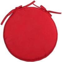 Maison & Déco Coussins Retro Galette de chaise rouge 40 cm Rouge
