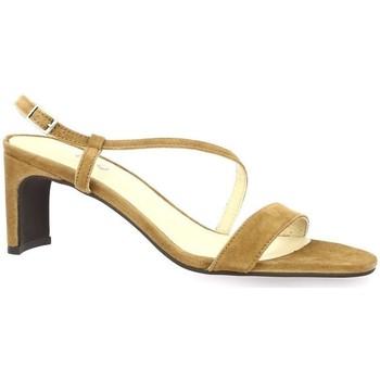 Chaussures Femme Sandales et Nu-pieds Vidi Studio Nu pieds cuir velours Camel