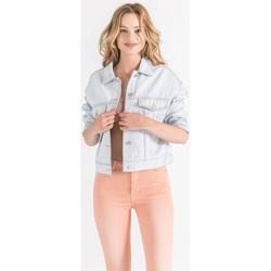 Vêtements Femme Vestes en jean Toxik3 Blouson Bleu jean clair