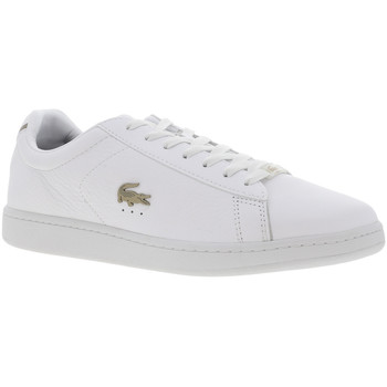 Chaussures Homme Baskets basses Lacoste CARNABY EVO 0721 Blanc