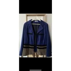 Vêtements Femme Vestes / Blazers Sans marque Veste Christine Laure Bleu