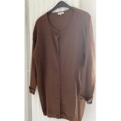 Vêtements Femme Gilets / Cardigans Sans marque Gilet long Jacqueline Riu Marron