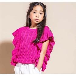 Vêtements Fille Pulls Vicolo 3146W0283 Pull Enfant fraise fraise