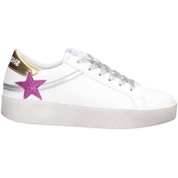 Chaussures Femme Baskets basses Shop Art SA050129 OR BLANC