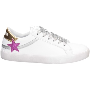 Chaussures Fille Baskets basses Shop Art SA050315 OR BLANC