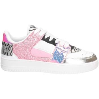 Chaussures Fille Baskets basses Pyrex PY050312 Basket Enfant BLANC / ROSE BLANC / ROSE