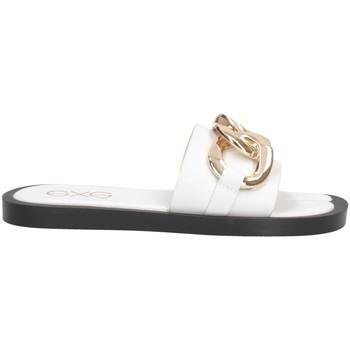 Chaussures Femme Mules Exé Shoes Exe' SAMANTHA-273 Chaussons Femme BLANC BLANC