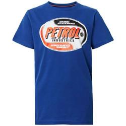 Vêtements Enfant T-shirts manches courtes Petrol Industries TSR601 5093 IMPERIAL BLUE Bleu