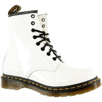 Chaussures Femme Boots Dr Martens 1460 w white blanc