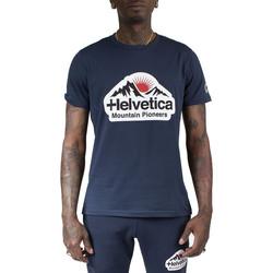 Vêtements Homme T-shirts & Polos Helvetica Tee-shirt Bleu