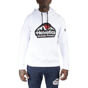 Vêtements Homme Sweats Helvetica Sweat à capuche Blanc