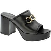 Chaussures Femme Mules Lorenzo Mari VALCHIRIA Nero