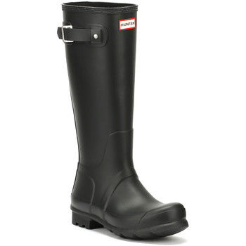 Bottes de pluie Hunter Mens Black Original Tall Wellington Boots-UK 6
