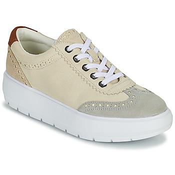 Chaussures Femme Baskets basses Geox KAULA Gris