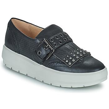 Chaussures Femme Baskets basses Geox KAULA Noir