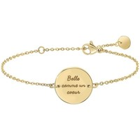 Montres & Bijoux Femme Bracelets Sc Crystal B2813-DORE Doré