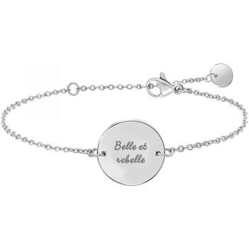 Montres & Bijoux Femme Bracelets Sc Crystal B2821-ARGENT Argenté