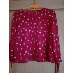 Vêtements Femme Tops / Blouses Only Blouse bordeaux Bordeaux