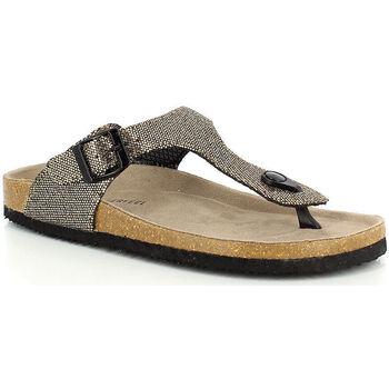 Chaussures Femme Tongs Kimberfeel ALINA Or