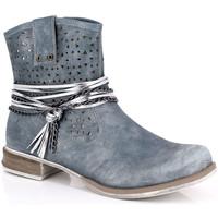 Chaussures Femme Bottines Kimberfeel MARGOT Bleu