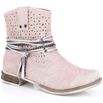 Chaussures Femme Bottines Kimberfeel MARGOT Rose