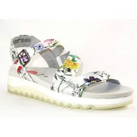 Chaussures Femme Sandales et Nu-pieds Jana JANA4245 BLANC FLEURS