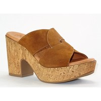 Chaussures Femme Mules Kaola 893 CAMEL