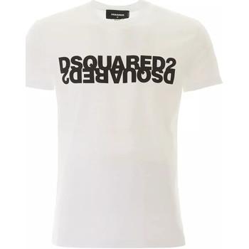 Vêtements Homme T-shirts manches courtes Dsquared  BLANC