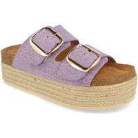 Chaussures Femme Espadrilles Buonarotti 1BD-1179 Lila