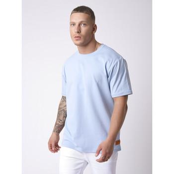 Vêtements Homme T-shirts manches courtes Project X Paris Tee Shirt Bleu Ciel