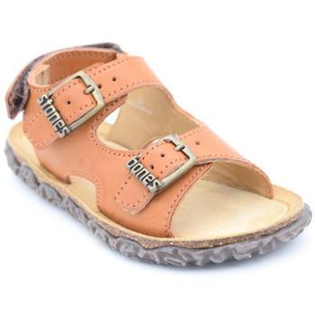 Chaussures Garçon Sandales et Nu-pieds Stones and Bones wham Marron