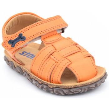Chaussures Garçon Sandales et Nu-pieds Stones and Bones raxi Orange