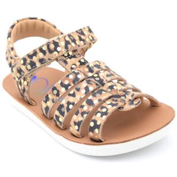 Chaussures Fille Sandales et Nu-pieds Shoo Pom goa spart Marron