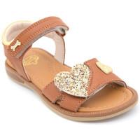Chaussures Fille Sandales et Nu-pieds Stones and Bones zeart Marron