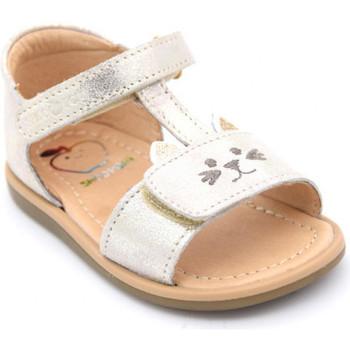 Chaussures Fille Sandales et Nu-pieds Shoo Pom tity miaou Doré