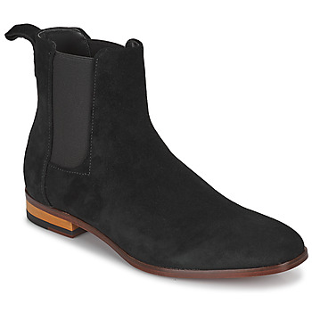 Chaussures Homme Boots HUGO CULT CHEB Noir