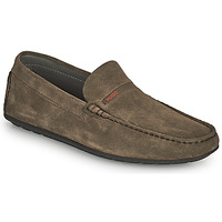 Chaussures Homme Mocassins HUGO DANDY MOCC Taupe